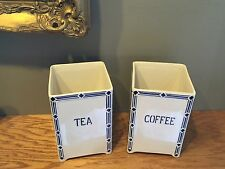True Vintage Porcelain Canisters / Vases – Ceramic Tea & Coffee Set – Germany
