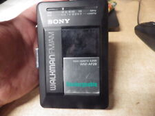 VINTAGE SONY RECHARGEABLE CASSETTE PLAYER RADIO SONY WM-AF29