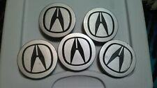 OEM Set of 5 Acura Integra EL TL RSX CL TSX MDX RDX CSX 1996-2011 Center Caps