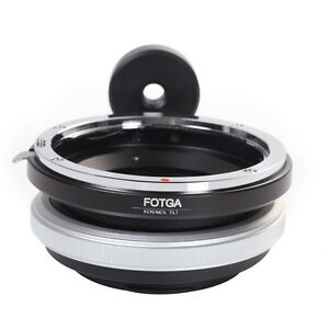 FOTAG Tilt Adapter Ring Fr Canon EOS EF Lens to Sony E Mount NEX3 5 6 7 ILCE-7R