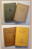 Konvolut Stefan George 4 Bde 1920-1967 Klassiker Gedichte Lyrik George-Kreis xz