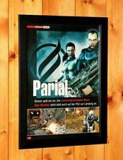 Pariah Video game Xbox Old Rare Promo Poster Ad / Art Print Framed