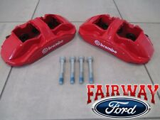 15 thru 19 Mustang OEM Ford Front Brembo Red Brake Caliper Kit - Shelby GT350R
