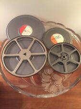 Vintage ConocoPhillips Film Reels W/ Tins 8mm