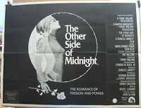 Susan Sarandon THE OTHER SIDE OF MIDNIGHT(1977)Original UK quad cinema poster
