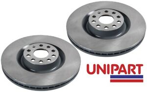 For Audi - A3 3.2 V6 quattro 2003-2008 Front 345mm Brake Discs Unipart