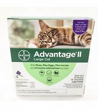 Bayer Advantage II Large Cat 4 Doses for cats over 9lbs