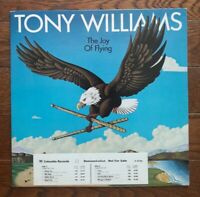 Tony Williams Joy of Flying LP Columbia 35705 PROMO vinyl WLP fusion jazz funk
