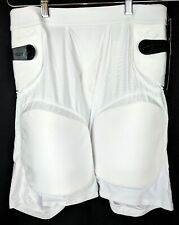 Cramer Football Girdle Adult Mens Sz L Large Game Padded Base Layer Pants White