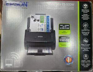 Epson Workforce ES-500W Wireless Sheetfed Scanner - Black