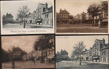 Lichfield. Market Place Square Old Postcards Variants  Ri.935