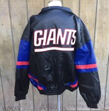 Vintage NY GIANTS Football NFL XXL Game Day Jacket Coat Collectible