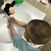 Mickey Cartoon Faucet Extender For Kids Children Wash Hands Bathroom Kitchen