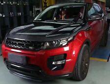 Rover Range Evoque Genuino De Fibra De Carbono Con Ventilación Capó Hood 2011 +