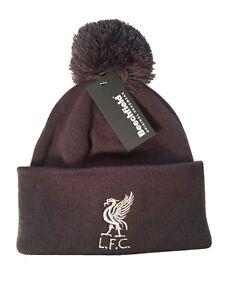 Liverpool Bobble Grey Bobble beanie hat