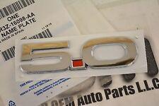 2015 Ford Mustang GT RH Side Chrome 5.0 Nameplate Emblem new OEM FR3Z-16098-AA