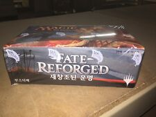 KOREAN Magic The Gathering Fate Reforged Sealed Booster Box For Card Game