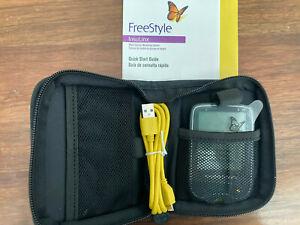 Freestyle INSULINX Glucose Monitor Meter & Case - NEW - OPEN BOX