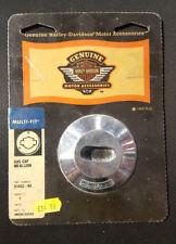 HARLEY DAVIDSON CHROME BILLET GAS CAP (NOS) 61453-94