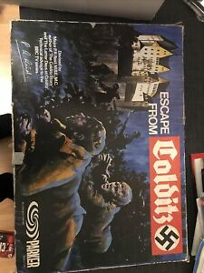 1970s Vintage Escape From Colditz Board Game Complete (Parker)