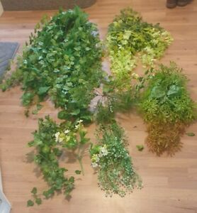 Large Amount Of Artificial Ivy Flowers Plants
