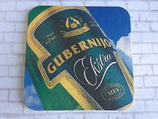 Beer Coaster <> GUBERNIJOS Ekstra Pale Lager ~*~ Šiauliai, Lithuania Since 1786