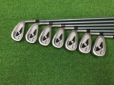 NICE Nicklaus Golf N1 PRO Iron Set 3-9 Right Handed Graphite Mach 4 STIFF Used