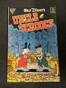 WALT DISNEY'S UNCLE SCROOGE #219, (1987) Gladstone Publishing, Scarce Brown Cane