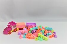 Building Toy Blocks for Toddlers. Colorful Puzzle Construction. Gift for Kids.