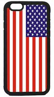 American USA Flag New Black or White Case Cover for iPhone 4s 5 5s 5c 6 6 Plus