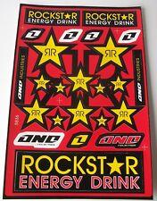 New Rockstar Motocross Decals Sticker Kit KTM SX SXF XCF XC EXCF LC4 SX50 SX65
