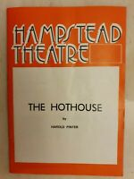 THE THE HOTHOUSE DEREK NEWARK JAMES GRANT ROGER DAVIDSON ANGELA PLEASENCE