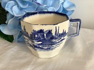 Royal Doulton Blue & White 'Norfolk' Cup