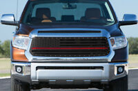 Custom Steel Grille AMERICAN FLAG for 2016-2017 Toyota Tacoma acrylic BLUE LIVES