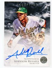 2013 Bowman Inception Addison Russell Rookie 2 CARD LOT