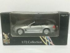 Road Signature Series 1:72 Scale MERCEDES BENZ SL55 SILVER Yat Ming