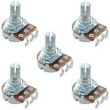 5 x 100K Linear 16mm Potentiometer Pot Solder Lugs