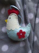 Handmade Small Chicken Christmas Tree Decoration