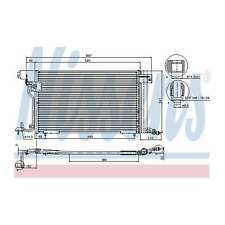 Fits Peugeot 306 2.0 GTI Genuine OE Quality Nissens A/C Air Con Condenser