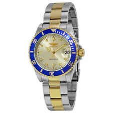 Invicta Ile8928oba Pro Diver 40mm Men's Automatic Silver Stainless Steel Watch