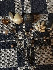 Vintage 40s Hat Pins