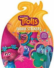 Trolls Fabric Stickers Customise your Clothing