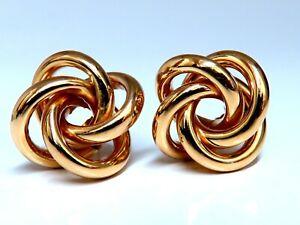 14kt Gold Circular Cosmic Earrings