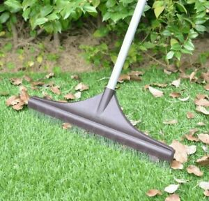 Artificial Grass Rake Brush for Astro Turf Fake Grass with Telescopic Handle