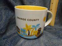 Starbucks You Are Here Collection Orange County City Collectable Mug 14 oz EUC