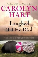 Laughed 'Til He Died No. 20 by Carolyn G. Hart (2010, BCE, Hardcover) Cozy Myste