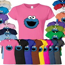 Cookie Monster Classic T-shirt XXL XL L M S Awesome Top Tee Shirt Woman Ladies