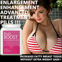 BUST BOOST BREAST ENLARGEMENT PILLS TABLETS NATURAL SAFE HERBAL BIG CLEAVAGE