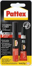 Pattex Sekundenkleber Plastix flüssig Blitz Sekundenkleber 4ml/2g 100ml=174,75€