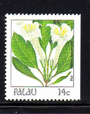 PALAU  #130  1987-88  FLOWERS  MINT  VF NH  O.G BOOKLET SINGLE  c
